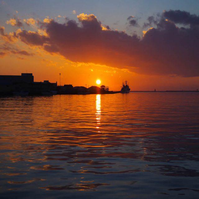釧路が夕日の綺麗な理由